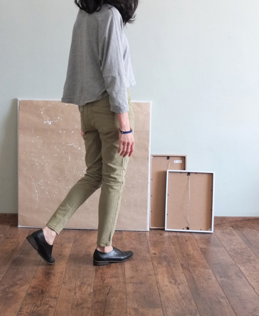 Peinture cargo pants-sold out