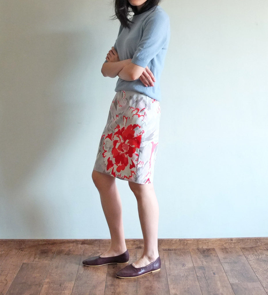 chinoiserie skirt-sold out