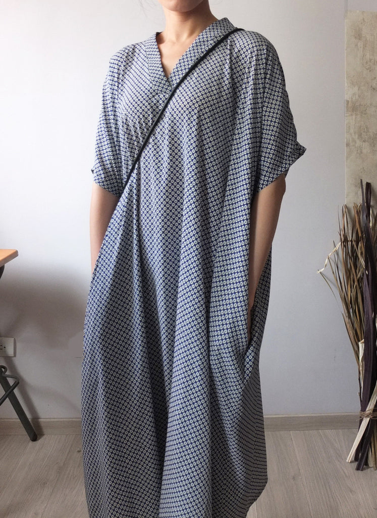 flâneuse maxi dress