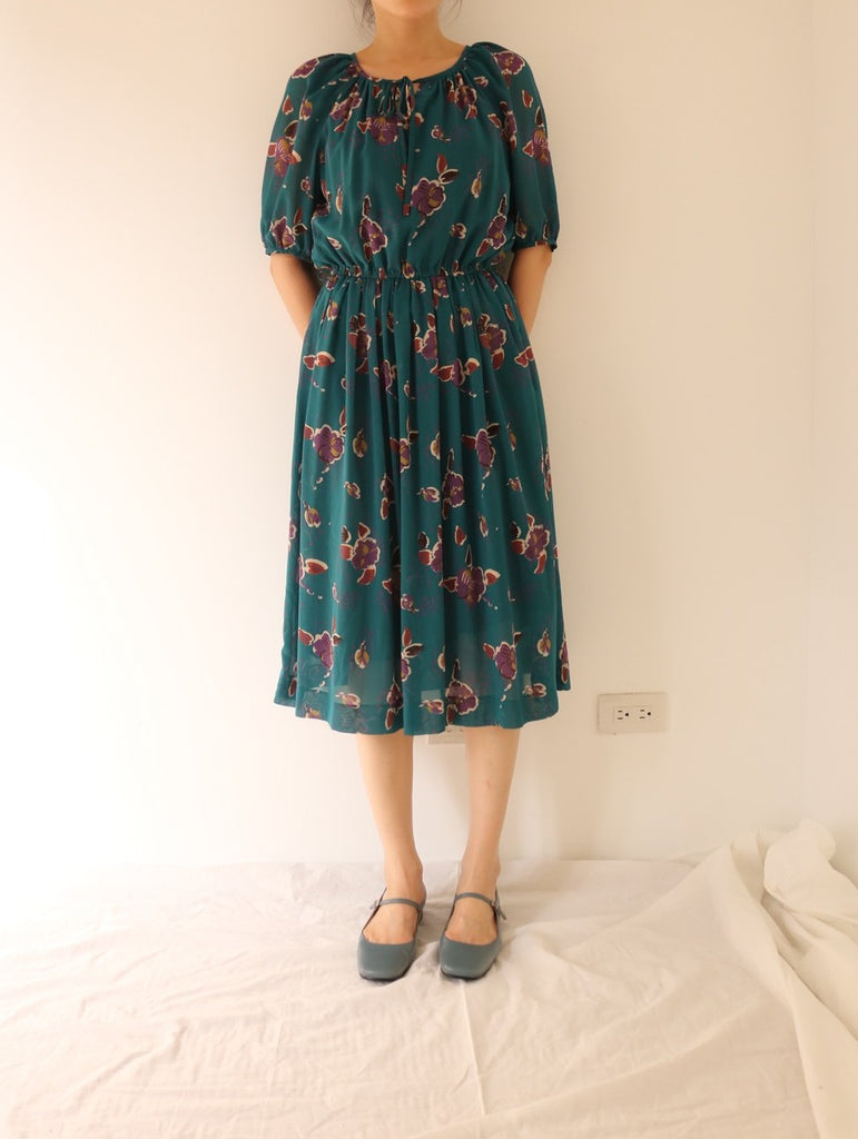 Zia dress {Japanese vintage}-sold out
