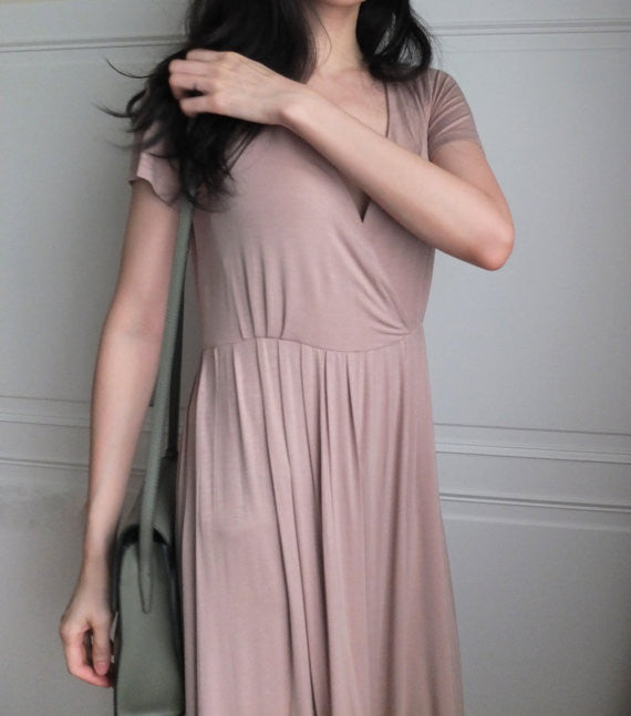gallery dress {nude}