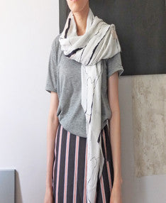 abstrait scarf-SOLD OUT