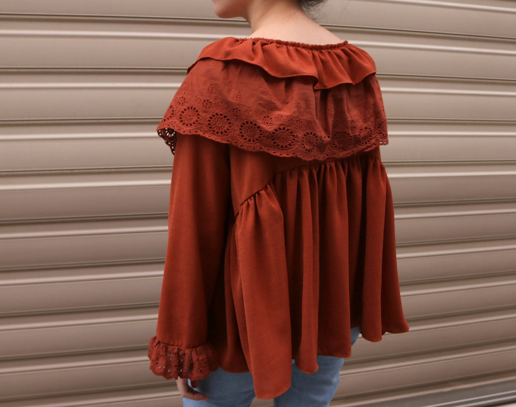 Agadir blouse-sold out
