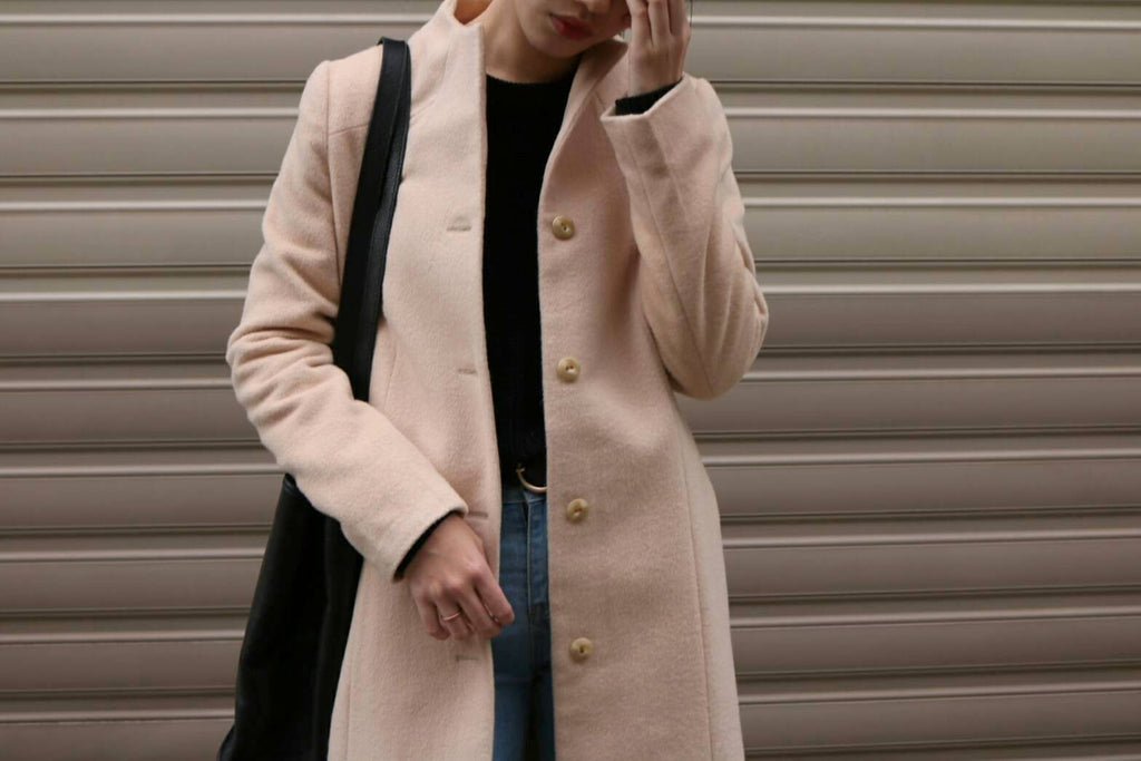 almond coat {more colours available}