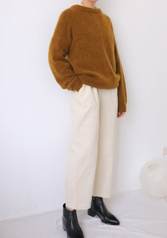 Andi Sweater-cognac (New colours added)