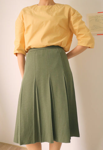 Verdure Skirt {Vintage}-sold out