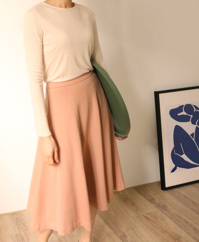 Blush Skirt {Vintage}-sold out