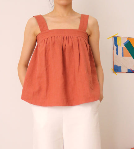 Brick Cami Top-sold out