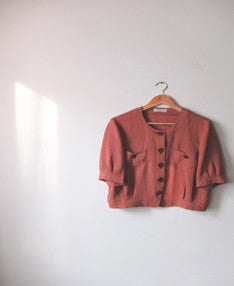 rose blouse {SOLD OUT}