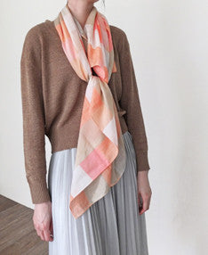 carreaux scarf-sold out