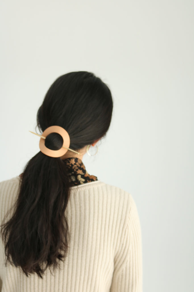 Circle Hairpin-made in Korea
