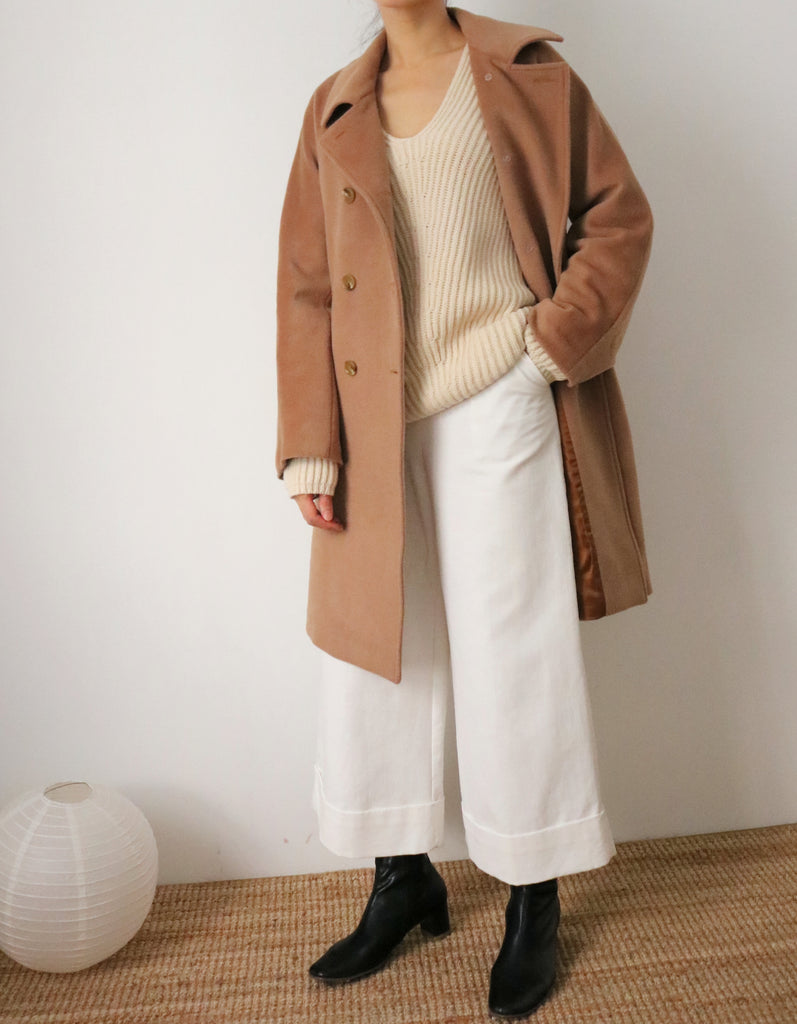 Costuras Coat-cropped