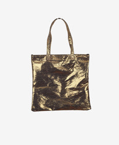Stardust tote (available in silver and gold,pre-treated to have a distressed look)