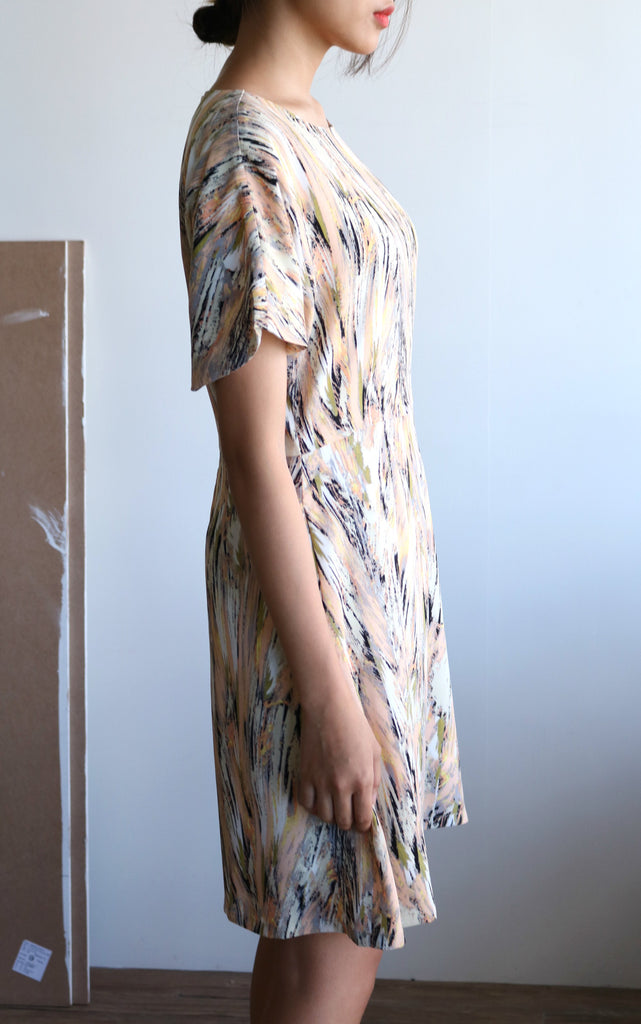 Cagiliari dress  {limited edition,fabric imported from France}-last chance