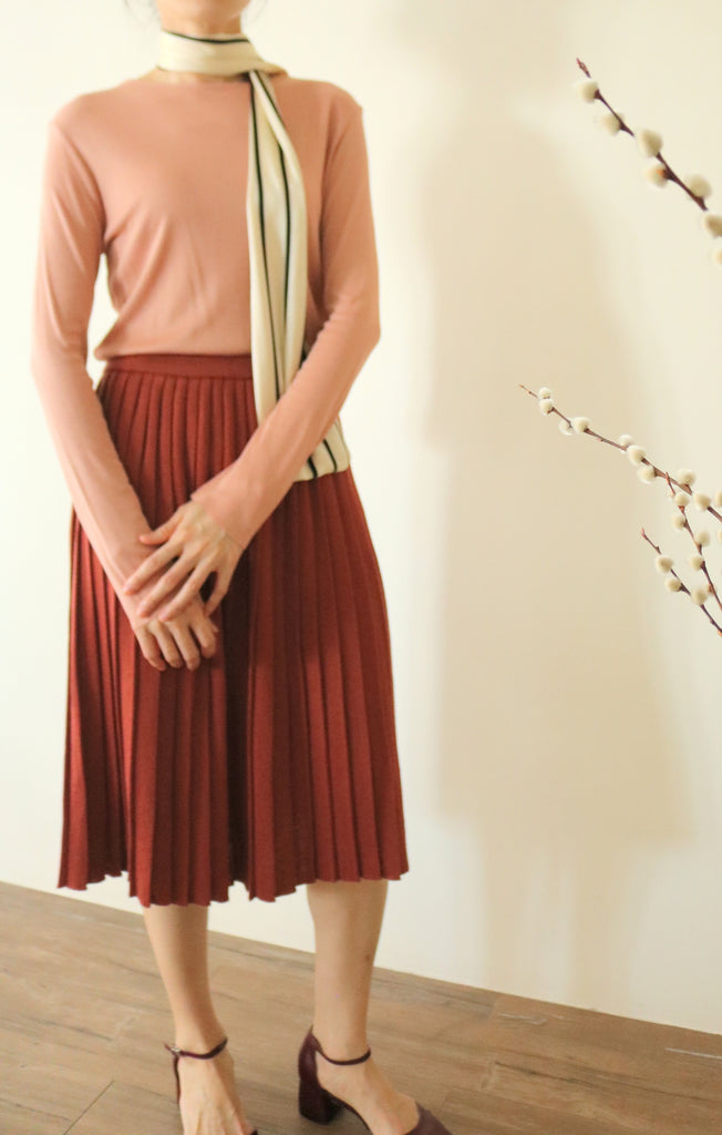 Framboise skirt (vintage)-sold out