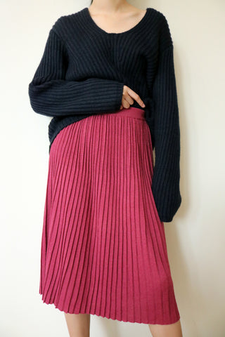 fuschia Skirt (vintage)-sold out