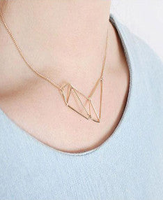 Geometry necklace-sold out