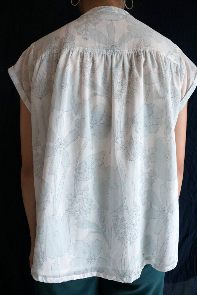 Hikari blouse (made with Japanese-made fabric,limited-edition.)-sold out