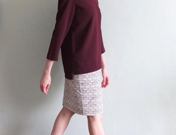 Wave skirt-sold out