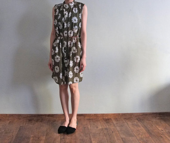 Olive dress{Sold out}