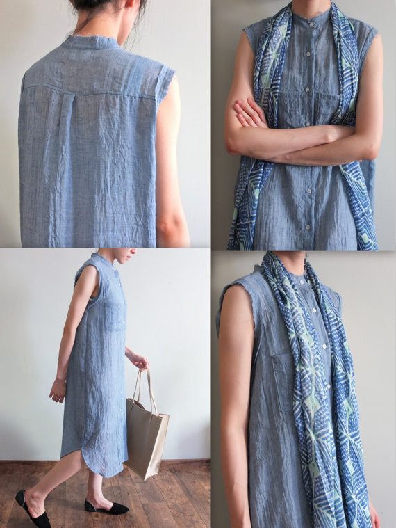 mohawk frayed chambray{sold out}