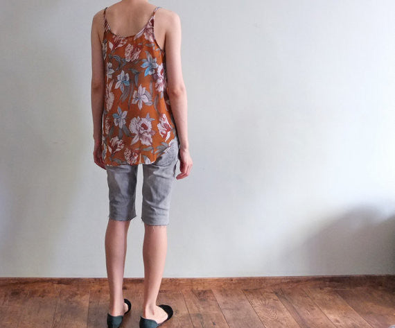Bali tank {Brownish orange}-SOLD OUT