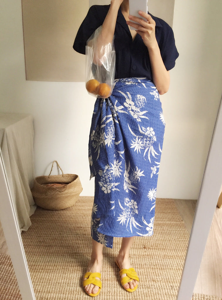 Beatrice skirt- pineapple print {limited edition}-sold out