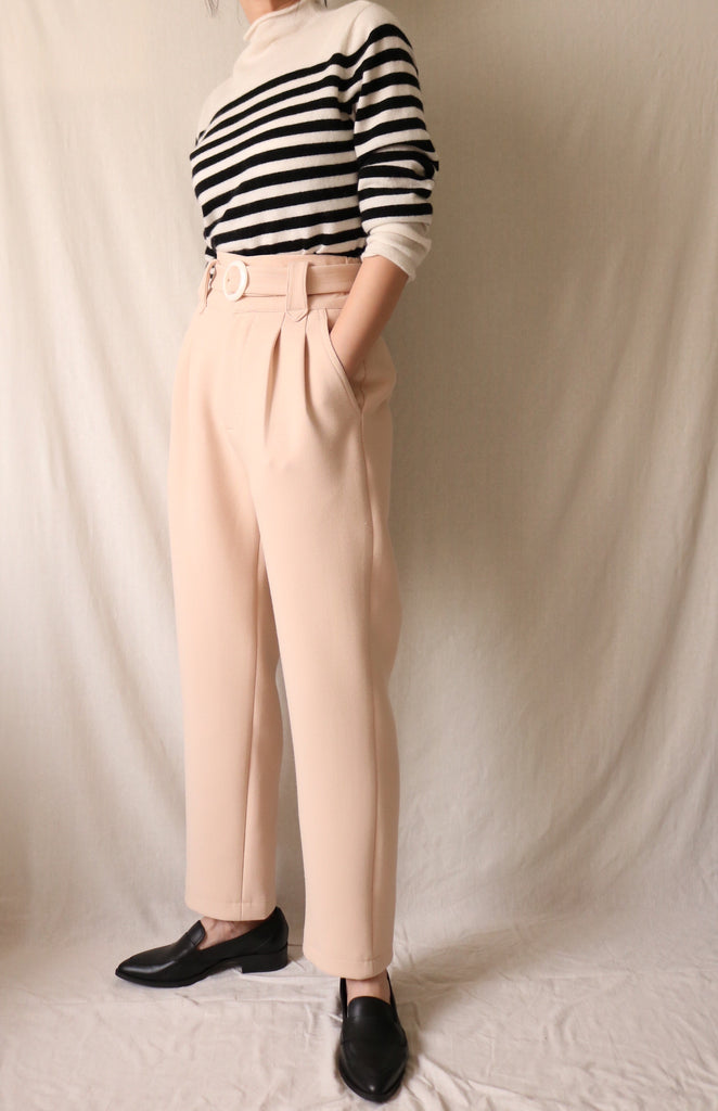 Muriel Trousers {sorbet yellow}