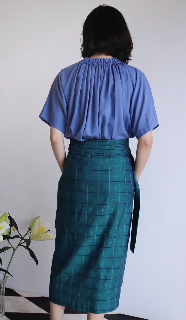 Ulla skirt{Bottle Green}*Limited Edition*