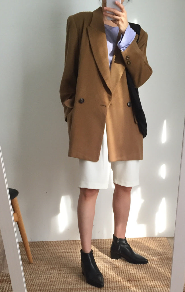 Eyluly suit jacket { Japanese vintage}