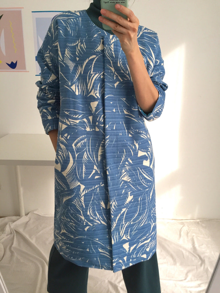 Palm coat -limited edition