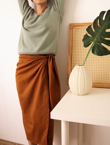 Beatrice skirt- caramel {pre-order, delivery scheduled for April}