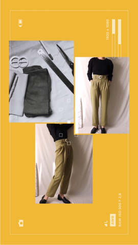 Avie Trousers {pelouse green}
