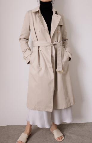Saatchi Trench Coat  {Korean vintage}