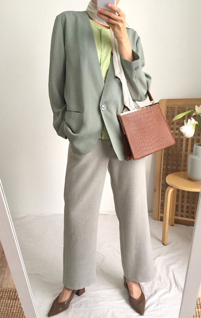aretha summer suit jacket {Japanese vintage}