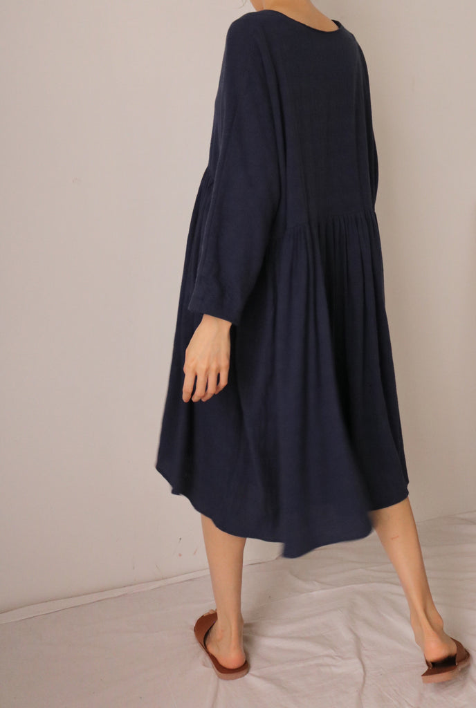 Momo dress {Navy}