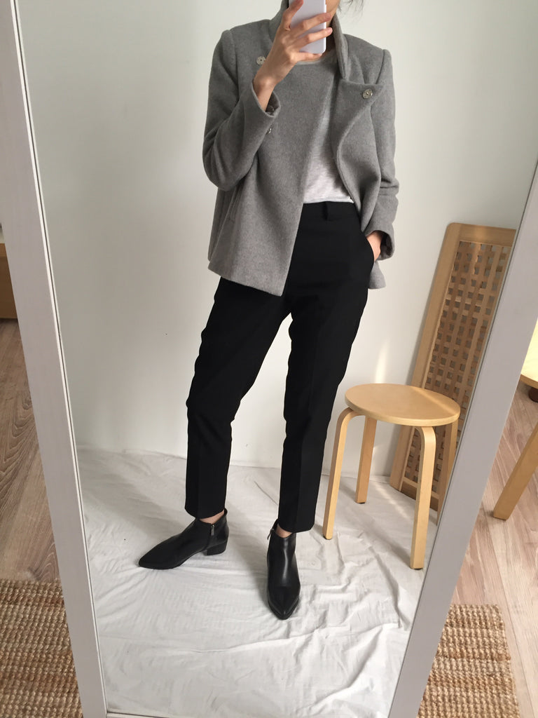 Jae Wool Jacket -grey