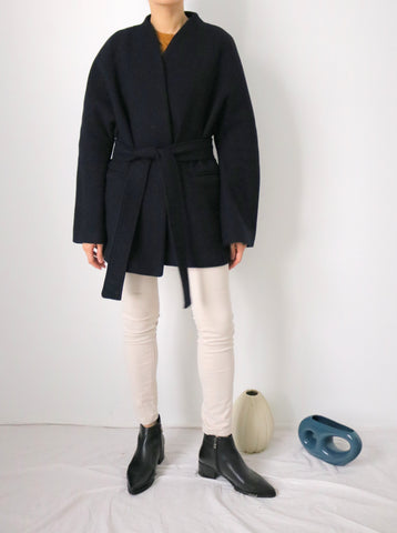 ishiji kimono coat -dark navy (more colours available)