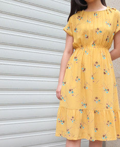 Jaune dress {Japanese vintage}sold out