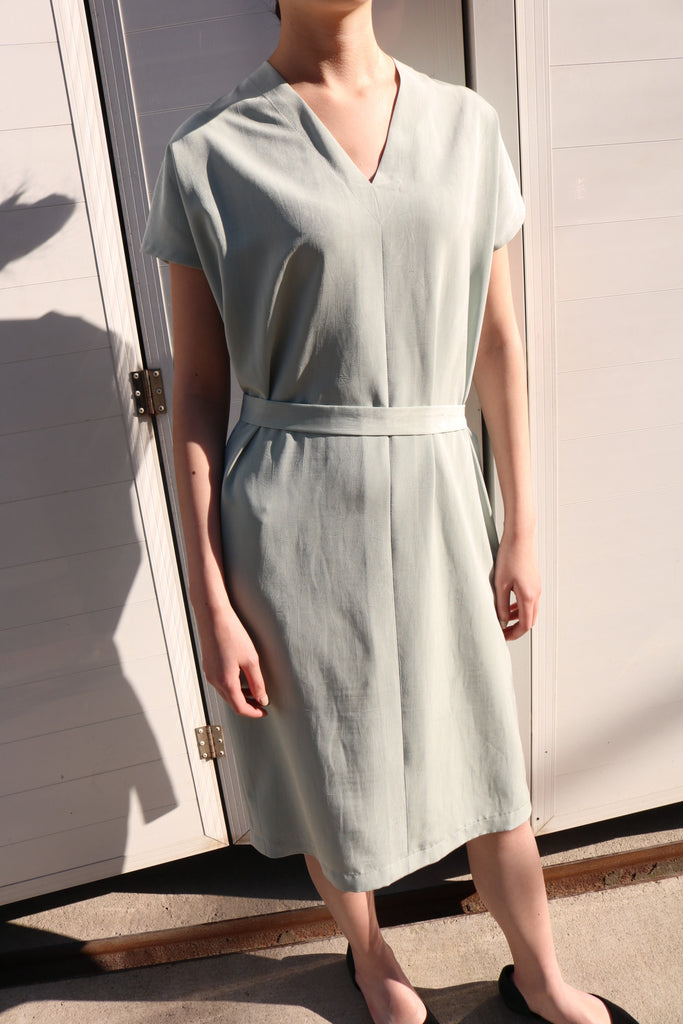 Pistachio dress-sold out