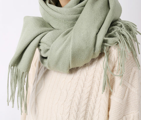Lambswool scarf {back by popular demand, more colours available}