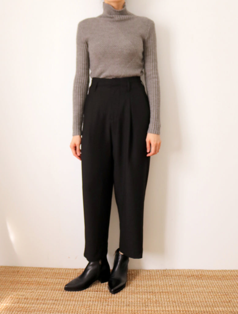 Mai Culottes (black, made-to-order)