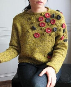 mossy sweater (vintage)-sold out