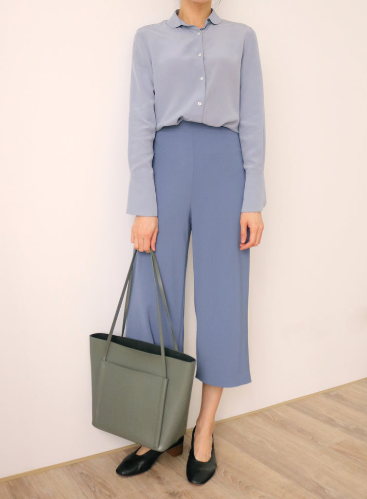 Mist crop trousers (vintage)-sold out
