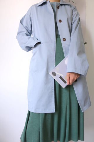 powder trench coat (more colours available)