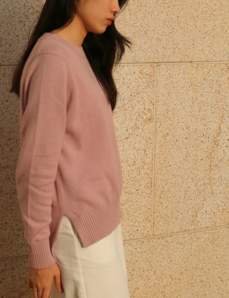 spring rose sweater