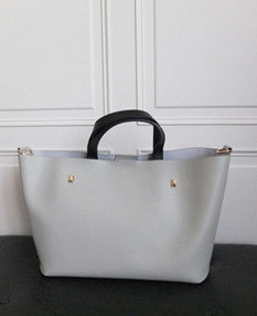 Rivoli handbag {concrete}-sold out