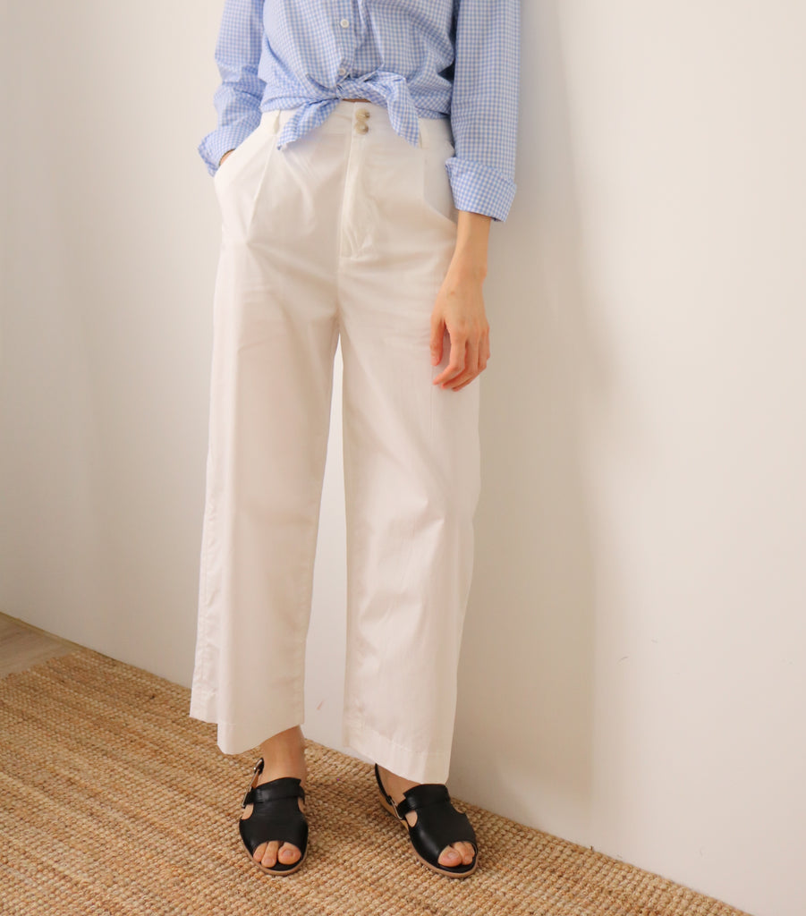 Blanc Trousers-sold out