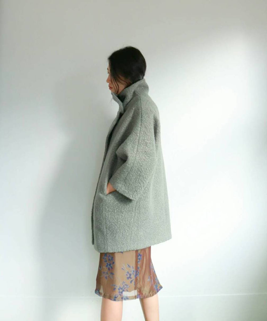 Sage Coat-sold out