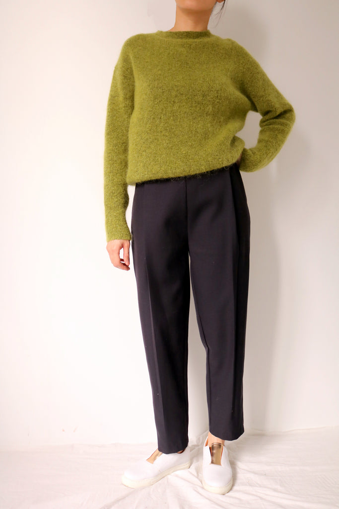 Yuni Trousers -made with tropical suiting wool